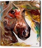 Fire Agate Acrylic Print