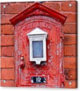 Fire Alarm Box No. 12 Acrylic Print