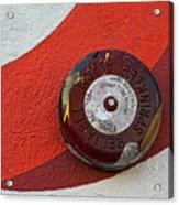 Fire Alarm Acrylic Print