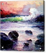 Fire And Water 1.0  Acrylic Print