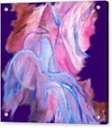 Fire Bird Digital Acrylic Print