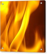 Fire Desire Mesmerized San Francisco Autumn Warmth Baslee Troutman Acrylic Print