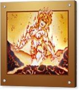 Fire Elemental Acrylic Print
