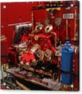 Fire Engine Of Old 17 Acrylic Print