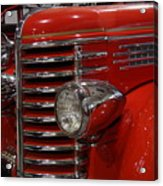 Fire Engine Of Old 5 Acrylic Print