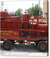 Fire Engine Of Older Years  Acrylic Print