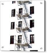 Fire Escape II Acrylic Print