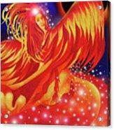 Fire Fairy Acrylic Print