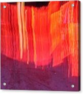 Fire Fence Acrylic Print