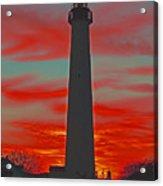 Fire Frames The Lighthouse Acrylic Print
