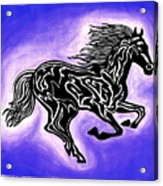 Fire Horse 2 Acrylic Print