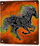 Fire Horse Neona 4 Acrylic Print