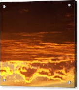 Fire In The Sky 2 Acrylic Print