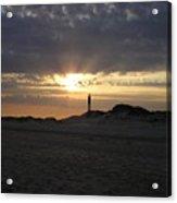 Fire Island Lighthouse At Sunset Acrylic Print