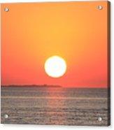 Fire Island Sunrise In August Acrylic Print