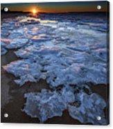 Fire Island Winter Acrylic Print
