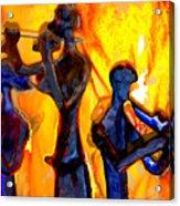 Fire Music Acrylic Print