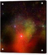 Fire Nebula Acrylic Print