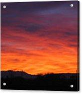 Fire Of Dawn Acrylic Print
