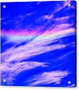 Fire Rainbow Acrylic Print