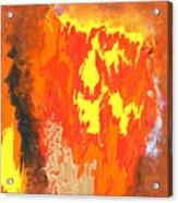 Fire Acrylic Print