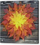 Fire - Reynoldstown - Atlanta, Ga Acrylic Print