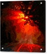 Fire Road Acrylic Print