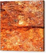 Fire Rock Acrylic Print