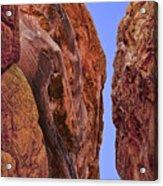 Fire Rocks Acrylic Print