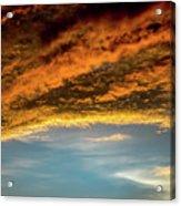 Fire Sky Acrylic Print