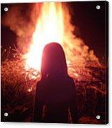 Fire Starter Acrylic Print