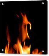 Fire Toon Acrylic Print