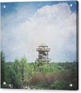 Fire Tower Acrylic Print