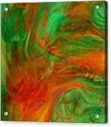 Fire Tree Acrylic Print