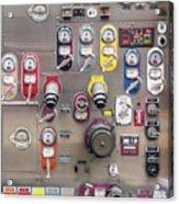 Fire Truck Controls Acrylic Print