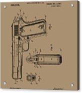 Firearm Handgun Acrylic Print