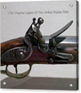 Firearms 1792 Virginia Legion Of The United States Rifle Acrylic Print
