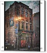 Firebird Tavern Acrylic Print