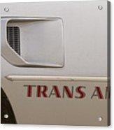 Firebird Trans Am Front Corner Panel Vent Acrylic Print