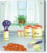 Fried Chicken Acrylic Print