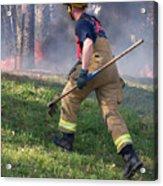 Firefighter 2901 Acrylic Print