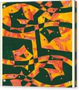 Fireflower Acrylic Print