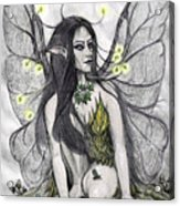 Firefly Faery Acrylic Print