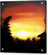 Firefly Frenzy Dreamy Mirage Acrylic Print