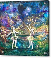 Firefly Frolic Acrylic Print