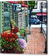 Firefly Lane Bar Harbor Maine Acrylic Print