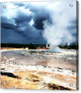 Firehole Lake 2 Acrylic Print