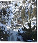 Firehole River Falls Acrylic Print