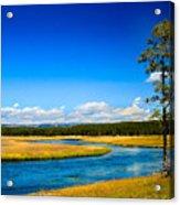 Firehole River Acrylic Print