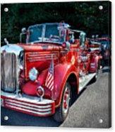 Fireman - 1949 And It Still Runs  Acrylic Print